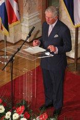 Princ Čarls, Srbija