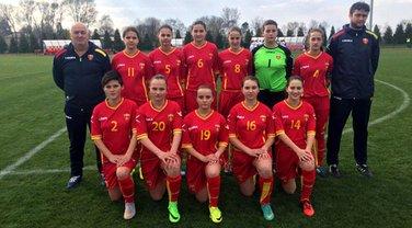 Ženska fudbalska pionirska reprezentacija Crne Gore