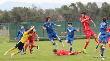 Crna Gora - Azerbejdžan, omladinci