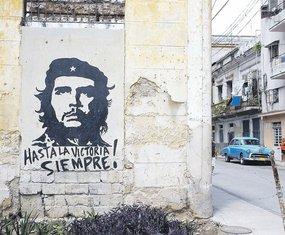 Mural Čegevara(novine)