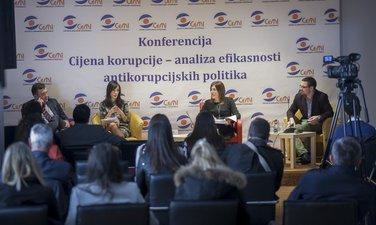 ijena korupcije – analiza efikasnosti antikorupcijskih politika, konferencija, CEMI
