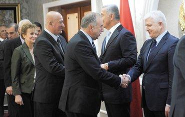 Milivoje Katnić, Milo Đukanović, Ivica Stanković, Duško Marković