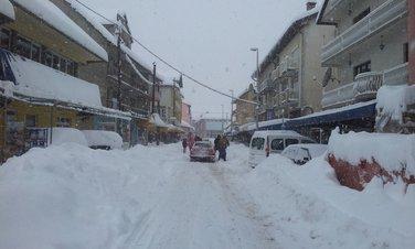 snijeg Gusinje