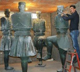 Mitar Živković-  skulptura oro