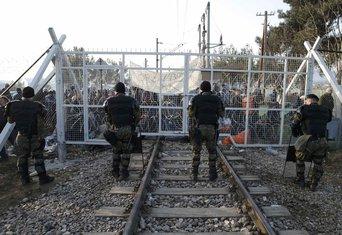 Izbjeglice, Grčka, Makedonija
