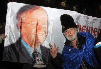 Demokratski front protest, Živko Tošković