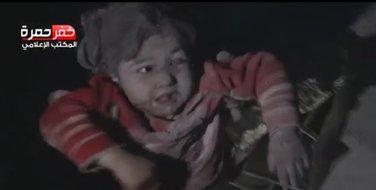 Sirija, djevojčica