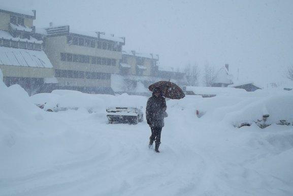 snijeg, Žabljak