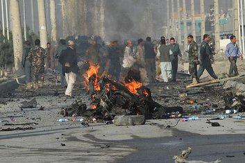 Avganistan, bombaš samoubica