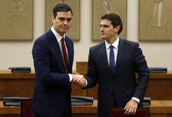 Pedro Sančez, Albert Rivera