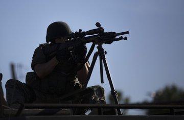 puška, vojnik