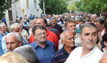 Metalac protest Vlada