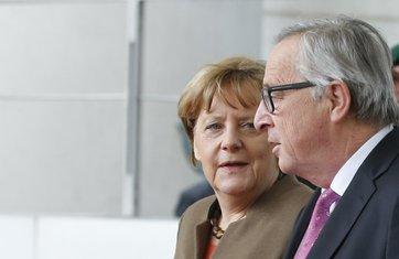 Žan Klod Junker, Angela Merkel