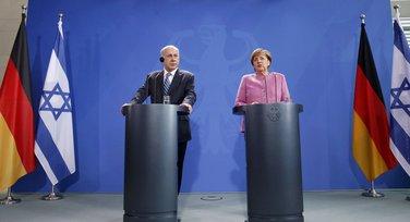 Benjamin Netanjahu i Angela Merkel