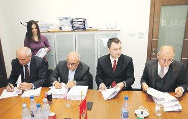 Branko Vujović, Vladimir Pavićević, Novi DKP