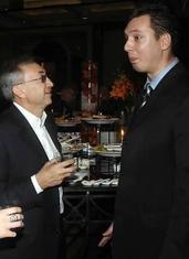 Miroslav Mišković, Aleksandar Vučić