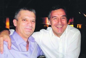 Fahrudin Radončić, Milo Đukanović