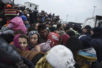 Idomeni izbjeglice