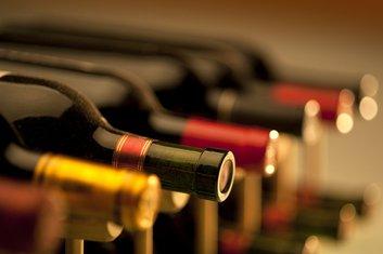 Flaša vina, vino