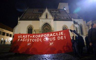 Zagreb, protest