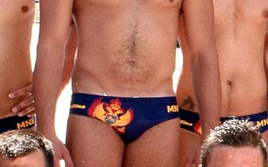 Grb na kupaćim gaćama vaterpolista