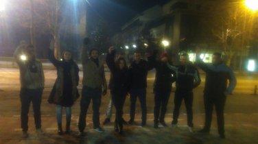 Protest, mladi, Skupština
