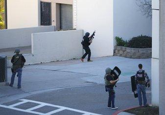 Vojna bolnica, San Dijego, pucnjava