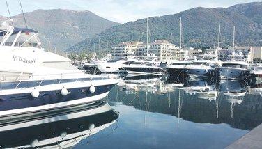 Porto Montenegro, jahta