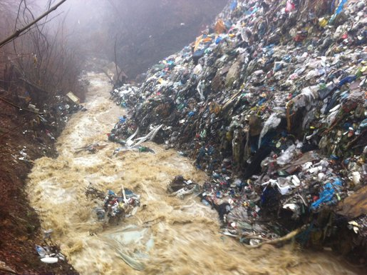 Vasove vode deponija
