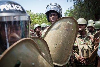 Kenija, policija