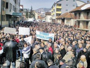 protest, sjever