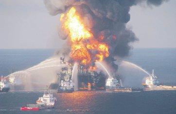 Eksplozija, naftna platforma (Novine)