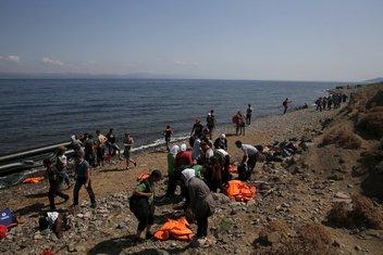 migranti, Grčka