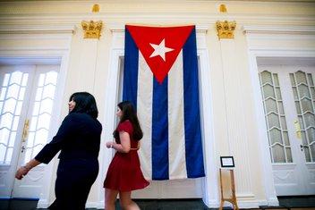 Kuba zastava, SAD