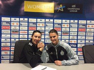 Bojana Popović i Katarina Bulatović