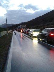 put Podgorica-Kolašin gužva