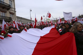 Poljska, protest