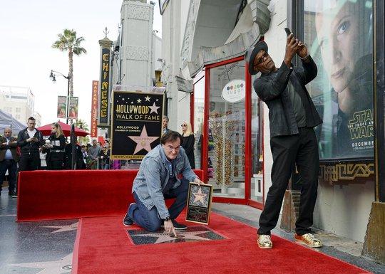 Kventin Tarantino, Semjuel L. Džekson