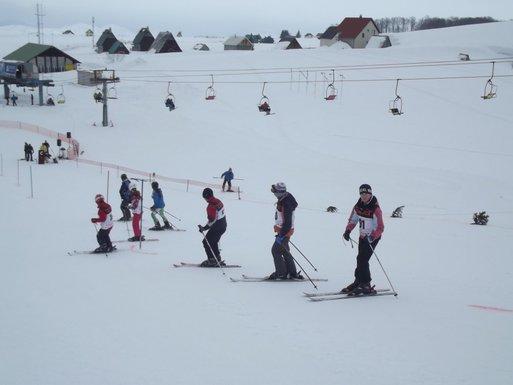 Skijanje, Savin kuk