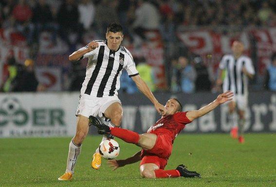 Petar Grbić, Partizan - Zvezda