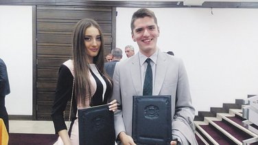 Gordana Vujović i Batrić Vukčević