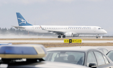 Montenegro Airlines, avion