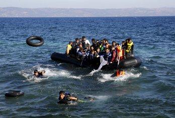 Grčka, izbjeglice