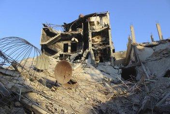Detalj iz Irbina, predgrađa Damaska