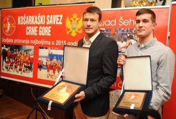 Suad Šehović i Ognjen Čarapić