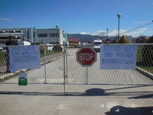 mljekara Nika, protest