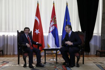 Ahmet Davutoglu, Aleksandar Vučić