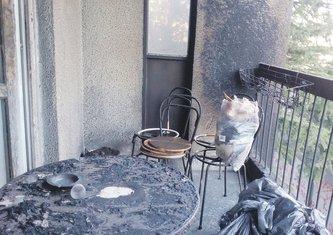 Kužina, posljedice požara