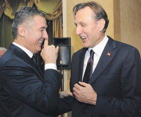 Milo Đukanović, Ranko Krivokapić