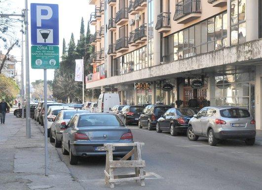 parking, Podgorica